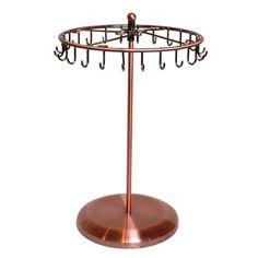 Rotating Necklace Holder Bracelet Stand / Jewelry Organizer / Jewelry Tree $15.99