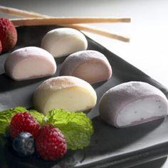 Bubbies Mochi♥   Ice cream filled rice balls at Gourmetfoodmall.com...yummmm