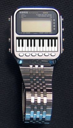 KORG kronos Watch Synthesizer ~ the name was recycled for their big flagship synthesizer ...