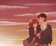James and Lily: Old Sunset by Avender.deviantart.com on @deviantART
