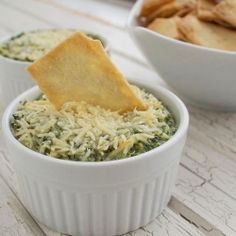 healthy spinach and artichoke dip by deliciousbydre