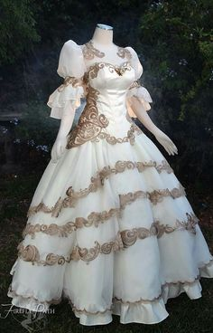 Tsubasa Chronicles themed wedding gown by Firefly Path