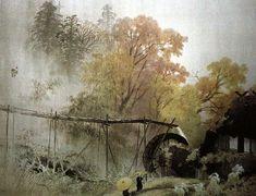 Gyokudo Kawai-The Japanese Master and his works-川合玉堂-日本繪畫大師與作品