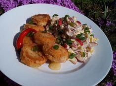 Bramborovo-ředkvičkový salát Meat, Chicken, Food, Essen, Meals, Yemek, Eten, Cubs
