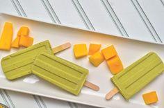 Creamy and refreshing Avocado-Mango Popsicles  ahealthyjalapeno.com