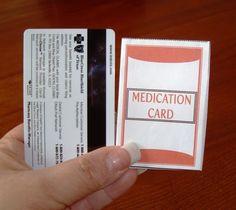 Free Home Management Binder - plus medication card printables