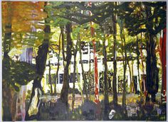 Peter Doig- light, natural and manmade.