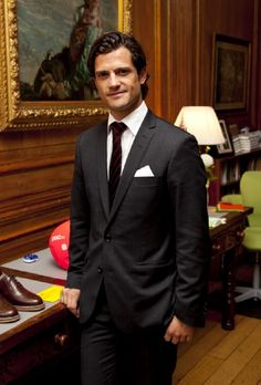 Prince Carl Philip Of Sweden attends The 'Design For Every Body' Show At The Swedish Ambassadors Residence In London