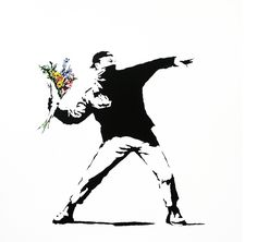 -Banksy <3 I want this on canvas <3