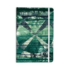 "Amazon.com : KESS InHouse Everything Notebook, Journal by Matt Eklund ""Foliage"", Green/Geometric (ME1007ANP01) : Office Products"