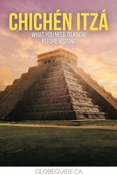 Everything you need to know about visiting Chichén Itzá, which is one of Mexico's top attractions and a wonder of the world. Chichen Itza Mexico   Mexico Travel   Mexico photography