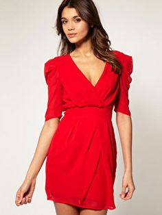 Studies have found this shade boosts your sex appeal, so why not invest in a little red dress