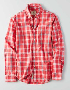3d1743d9248 American Eagle Outfitters Men's & Women's Clothing, Shoes & Accessories.  Button Down ShirtButton DownsMen And WomenMens FlannelLong SleeveClothes ...