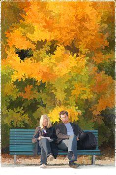 Coppia d'autunno - Couple in autumn