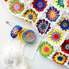 35 Free Crochet Afghan Square Patterns Organized By Size!