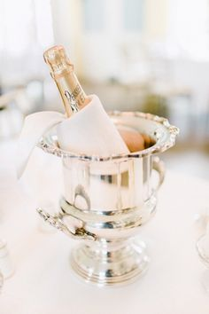 New Year's Eve party soiree elegant vintage gold silver gilt champagne coupe glasses crystal sterling silver entertaining ideas Champagne Buckets, Champagne Cocktail, Pink Champagne, Champagne Toast, Champagne Quotes, Champagne Cooler, Cheers, Southern Weddings, Monogram Wedding