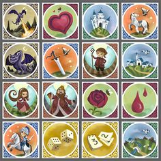Fichas de cuentacuentos Storytelling, Plates, Tableware, Projects, Pictures, Family Games, Saint George, Board Games, Legends