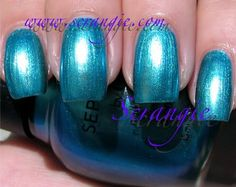 Sephora By OPI Mermaid To Order (Shimmery Medium Aqua Blue)