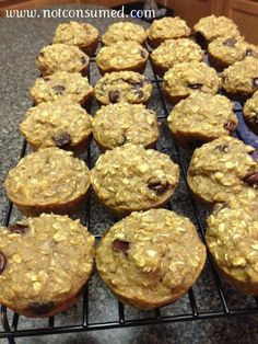 oatmeal_muffins gluten free, dairy and sugar free