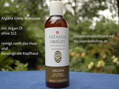 Vivasan Origin SLS freie Glanz Shampoo reinigt und beruhigt Haar und Kopfhaut und spendet Feuchtigkeit. Shampoo für langanhaltende Pflege mit frischem Glanz und Geschmeidigkeit.
