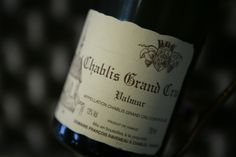 "Chablis Grand Cru ""Valmur"" 2011 Domaine François Raveneau, Bourgogne."