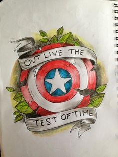 captain america flash by Tripptych on DeviantArt Captain America Tattoo, Captain America Shield, Captain America Drawing, Capt America, Avengers Tattoo, Marvel Tattoos, American Traditional, Traditional Flash, Bucky