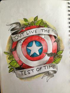 captain america flash by Tripptych.deviantart.com on @DeviantArt