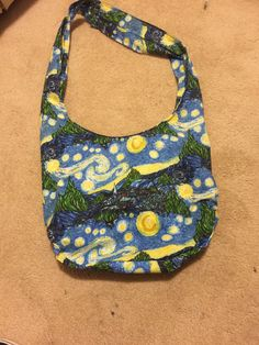 A personal favorite from my Etsy shop https://www.etsy.com/listing/467766248/starry-night-hobo-bag