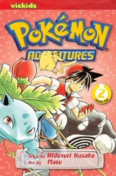 Pokémon Adventures Manga Novels (Reads R to L Japanese Style) -- Red's mission in life is to catch and train all the Pokémon in the world...so he needs to get started while he's still a boy. But these Pokémon aren't inside his Gameboy or Nintendo or Wii...they're real! Red has some stiff competition on his journey.