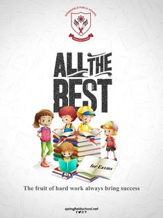 Success happens when you work hard with strategic actions and right direction! All the best for upcoming Boys Boarding School, Boarding Schools In India, Creative Advertising, Advertising Design, Mahashivratri Images, Springfield School, Student Of The Month, Pamphlet Design, Mother Daughters