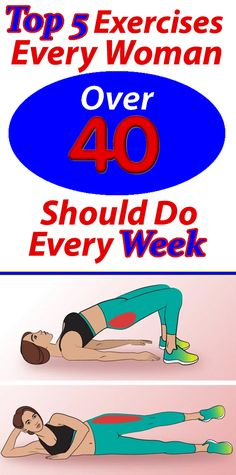 Top 5 Exercises Every Woman Over 40 Should Do Every Week