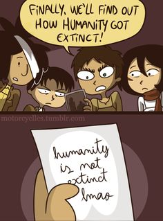 What did he wrote there? Attack On Titan Comic, Aot Funny, Aot Memes, Eren, Anime Manga, Funny Pictures, Fandoms, Writing, Feelings