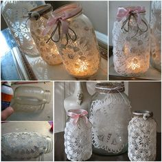 Ideas & Products: Mason Doily Jars
