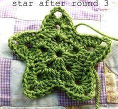 Free Crochet Pattern - Star