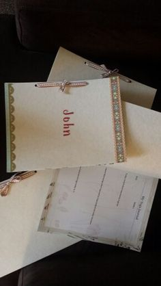 Yoga journals for yoga therapy participants to incorporate what they learn from yoga and how it translates to daily life.