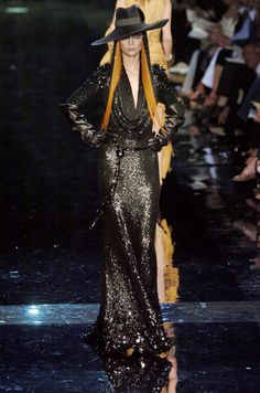Tiiu Kuik at Jean Paul Gaultier Haute Couture F/W 2004