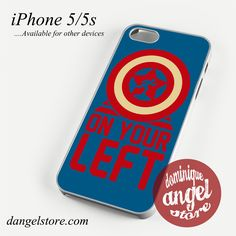 On your left captain america 3 Phone case for iPhone 4/4s/5/5c/5s/6/6 plus