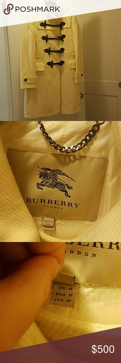 Burberry *****HOST PICK***** Winter coat beautiful weight. US 12 UK 14. Burberry Jackets & Coats Pea Coats