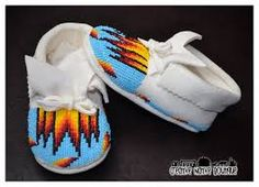leather baby moccasin pattern free - Google Search