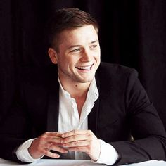 "Taron Egerton - February 23: ""Eddie the Eagle"" NYC Press Conference"