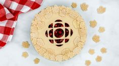 Can you blame us if we think this CBC gem stencilled pie is the best dessert for Canada Day? Pulses Recipes, Thanksgiving This Year, Pie Crust Recipes, Pie Shell, Canada Day, Pie Plate, Deep Dish, Easy Peasy, Fun Desserts