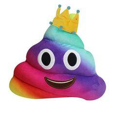 ✿ Emoji amusant Coussin,Ularmo® oreiller émoticône Poo Shape Oreiller Jouet Poupée Noël Cadeau ✿ (F): Fonctionnalité: ✿ Fonctionnalité: ✿…