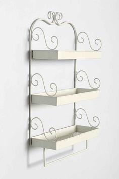 Three Tier Shelf in Grey