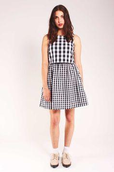 Louche Megan Gingham Dress – Fox + Feather