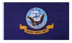 3′ X 5′ Polyester United States Navy Flag