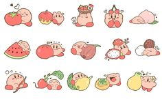 Nintendo Characters, Cute Characters, Pokemon, Kirby Character, Super Smash Bros, Cute Stickers, Cute Art, Nerd, Doodles