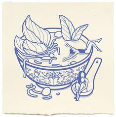 Pho, ramen, any type of soup I'm there Japan Design, Graphisches Design, Japon Illustration, Graphic Design Illustration, Japanese Graphic Design, Japanese Art, Art Journal Inspiration, Art Inspo, Doodle Art