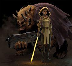 Disney Princesses As Star Wars Jedis - moviepilot.com