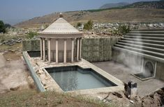"""A """"gate to hell"""" has emerged from ruins in southwestern Turkey, Italian archaeologists have announced.  Known as Pluto's Gate -- Ploutonion in Greek, Plutonium in Latin -- the cave was celebrated as the portal to the underworld in Greco-Roman mythology and tradition."""