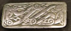 Barbaricum - Uppåkra and the Iron Age of Scania... Silver plaque with interlace.  Matt Bunker - Wulfheodenas